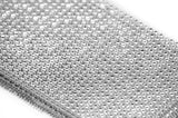 Rhinestone mesh roll 10 yards Silver - Wholesale Wedding Chair Covers l Wedding & Party Supplies