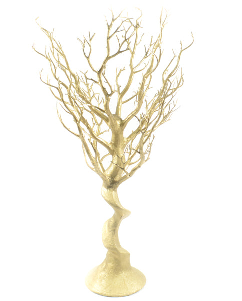 "30"" Manzanita Tree Gold - Wholesale Wedding Chair Covers l Wedding & Party Supplies"