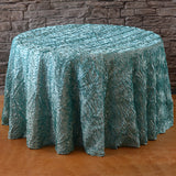 "120"" Round Wavy Tablecloth"