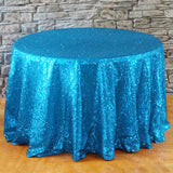 "108"" Round Sequin Taffeta Tablecloth - Wholesale Wedding Chair Covers l Wedding & Party Supplies"
