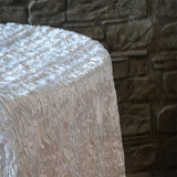 "90"" x 156"" Rectangular Wavy Tablecloth - Wholesale Wedding Chair Covers l Wedding & Party Supplies"