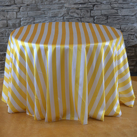 "120"" striped tablecloth - Wholesale Wedding Chair Covers l Wedding & Party Supplies"