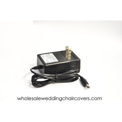 AC adapter for floral shaped LEDs - Wholesale Wedding Chair Covers l Wedding & Party Supplies