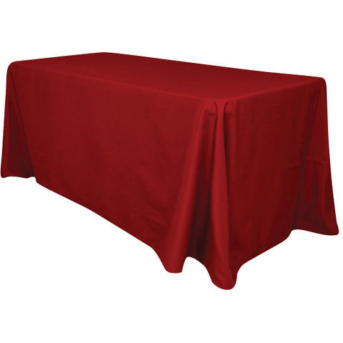 "90"" x 156"" polyester tablecloth - Wholesale Wedding Chair Covers l Wedding & Party Supplies"