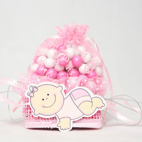 Baby favor bags (1 dozen) - Wholesale Wedding Chair Covers l Wedding & Party Supplies