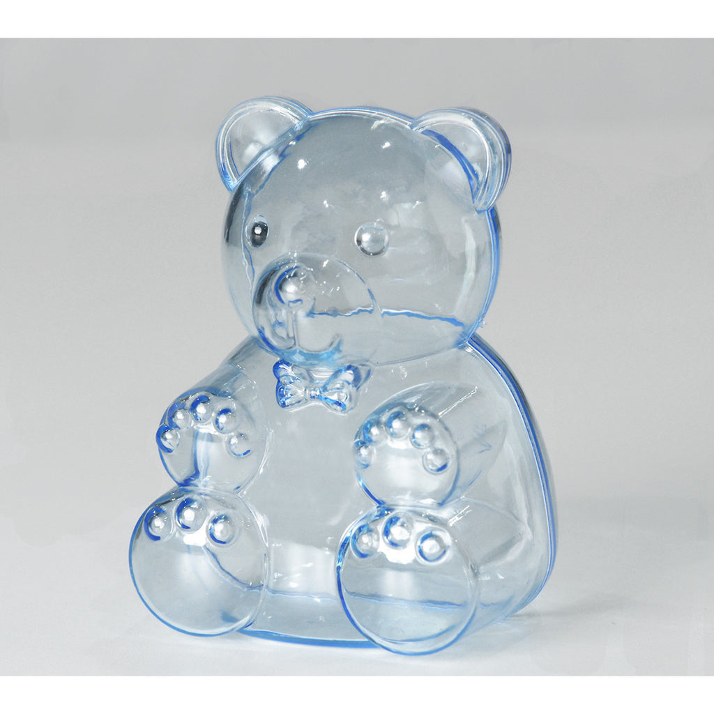 Teddy bear favors Blue 1 dozen - Wholesale Wedding Chair Covers l Wedding & Party Supplies