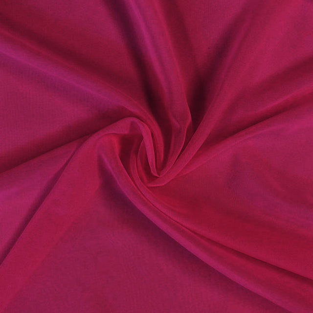 Chiffon fabric roll Begonia (40 yards) - Wholesale Wedding Chair Covers l Wedding & Party Supplies