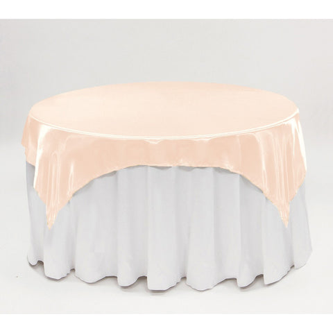 "90"" x 90"" satin overlay - Wholesale Wedding Chair Covers l Wedding & Party Supplies"