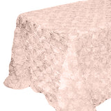 "Ribbon rose 90"" x 156"" Tablecloth - Wholesale Wedding Chair Covers l Wedding & Party Supplies"