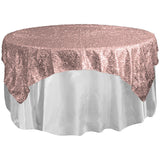 72 x 72 Taffeta Sequins Sparkle Overlay - Wholesale Wedding Chair Covers l Wedding & Party Supplies