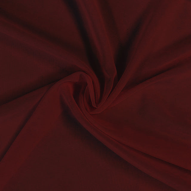 Chiffon fabric roll Burgundy (40 yards) - Wholesale Wedding Chair Covers l Wedding & Party Supplies