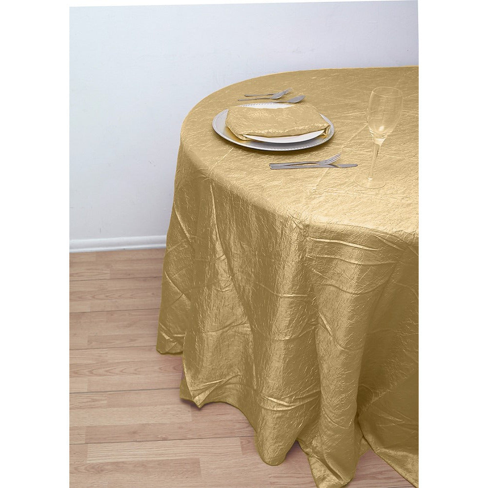 132 round crushed taffeta tablecloth specialty tablecloths 132 round crushed taffeta tablecloth solutioingenieria Choice Image