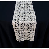 Chemical Lace Runner - Wholesale Wedding Chair Covers l Wedding & Party Supplies