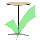 Spandex Cocktail Table Cover - Wholesale Wedding Chair Covers l Wedding & Party Supplies