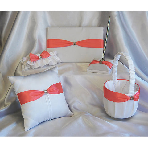 Wedding Book Ring Pillow Set - Wholesale Wedding Chair Covers l Wedding & Party Supplies