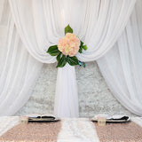 Sheer Draping Panel - Wholesale Wedding Chair Covers l Wedding & Party Supplies