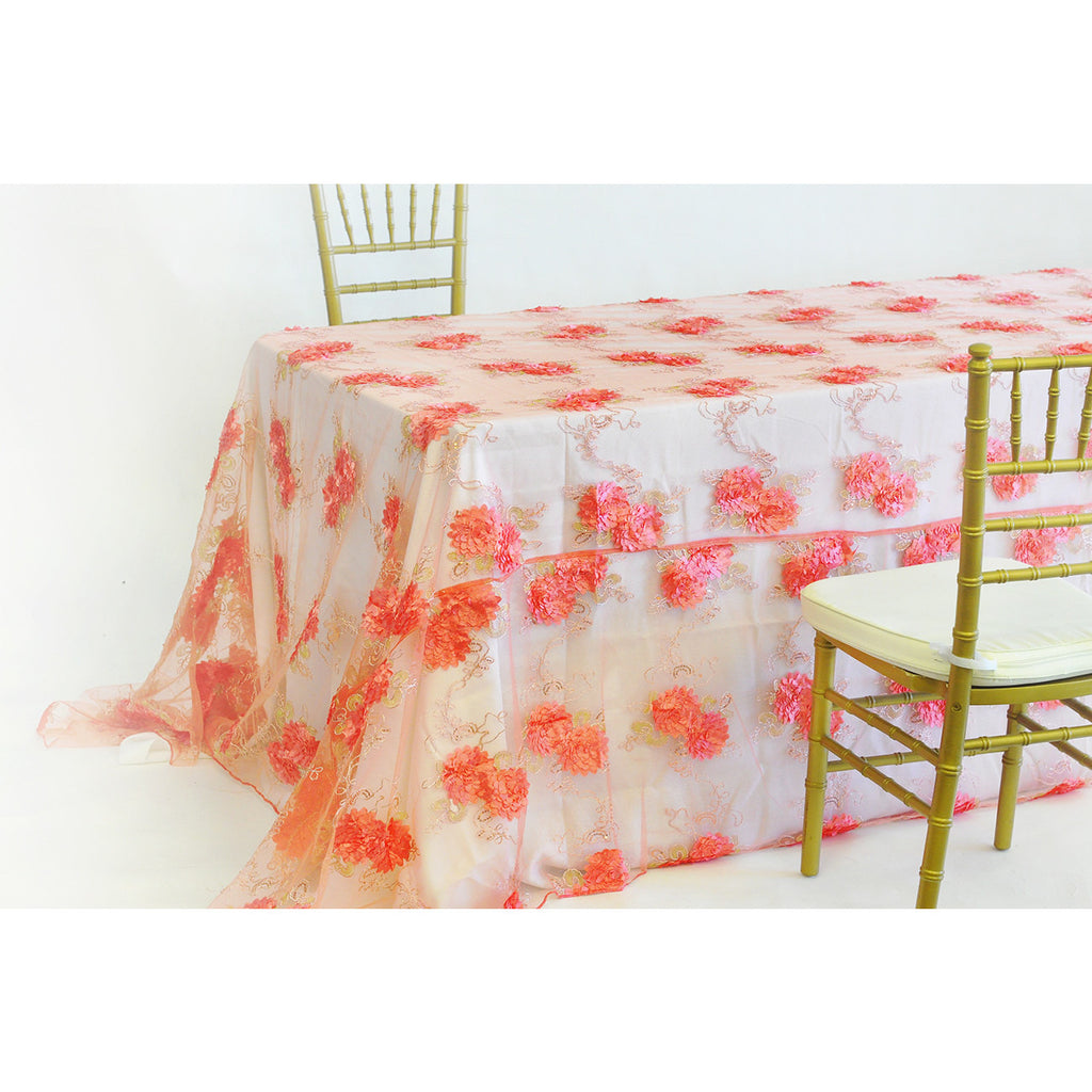 "90"" x 156"" Sunflower Tablecloth - Wholesale Wedding Chair Covers l Wedding & Party Supplies"