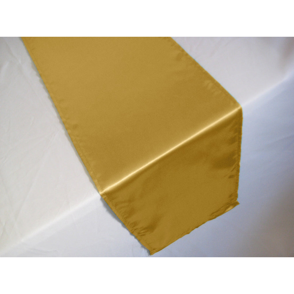 Satin Table Runner - Wholesale Wedding Chair Covers l Wedding & Party Supplies