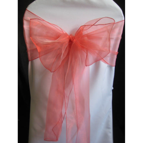 Organza Sash (Pack of 10) - Wholesale Wedding Chair Covers l Wedding & Party Supplies