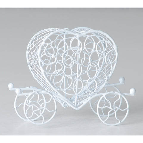 Heart shaped carriage favor - Wholesale Wedding Chair Covers l Wedding & Party Supplies