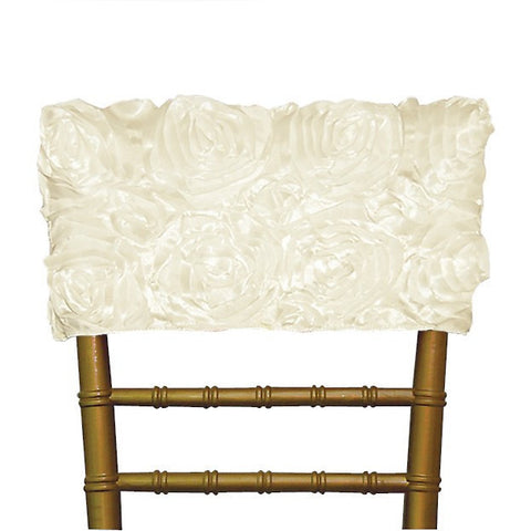Chiavari Chair Rosette Cap - Wholesale Wedding Chair Covers l Wedding & Party Supplies