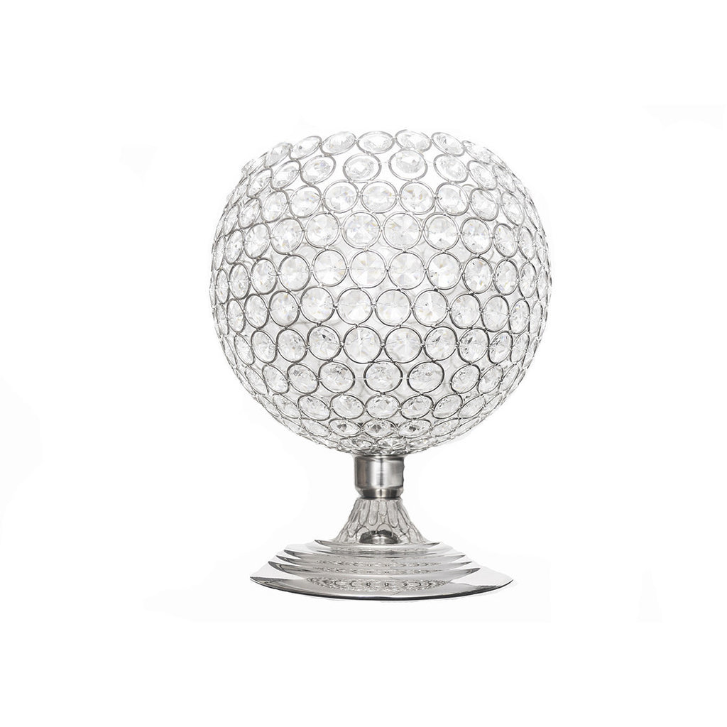 Tabletop Crystal globe (Set of 2) - Wholesale Wedding Chair Covers l Wedding & Party Supplies