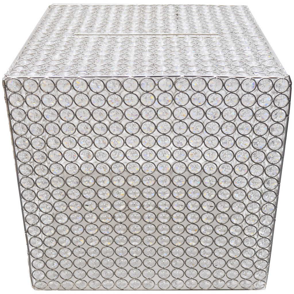 Crystal Sparkle Money Box - Wholesale Wedding Chair Covers l Wedding & Party Supplies