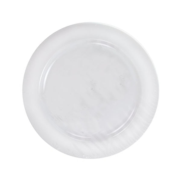 "Pearl 9"" Disposable Plates  30 CT. - Wholesale Wedding Chair Covers l Wedding & Party Supplies"