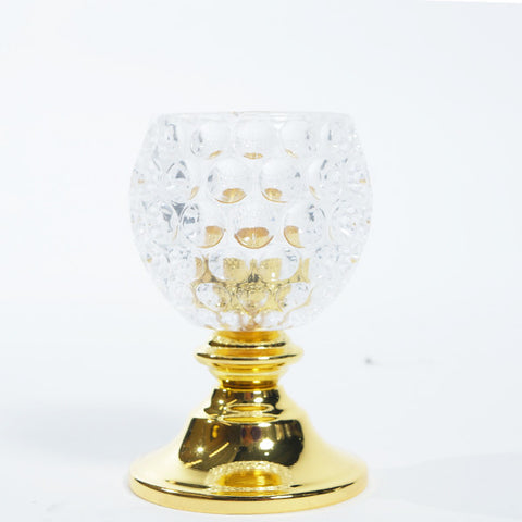 Clear votive candle holder - Wholesale Wedding Chair Covers l Wedding & Party Supplies