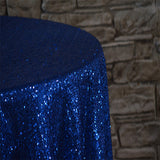 "90"" x 132"" Rectangular Sequins Tablecloth"