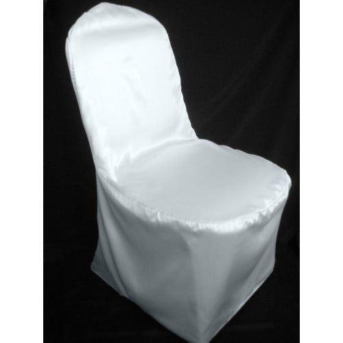 Satin Banquet Chair Cover - Wholesale Wedding Chair Covers l Wedding & Party Supplies
