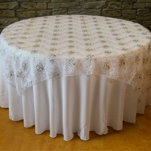 Snowflake overlay - Wholesale Wedding Chair Covers l Wedding & Party Supplies