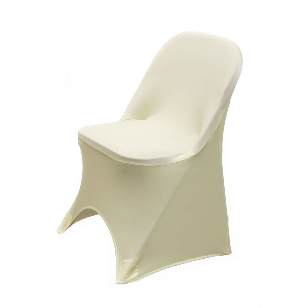 Spandex Stretch Folding Chair Cover - Wholesale Wedding Chair Covers l Wedding & Party Supplies