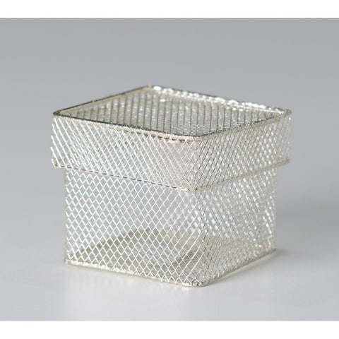 Square wire favor box - Wholesale Wedding Chair Covers l Wedding & Party Supplies