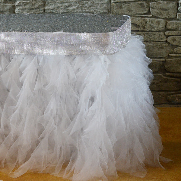 Tutu tableskirt - Wholesale Wedding Chair Covers l Wedding & Party Supplies