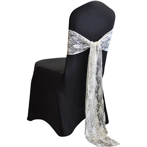 Vintage Lace Sash - Wholesale Wedding Chair Covers l Wedding & Party Supplies