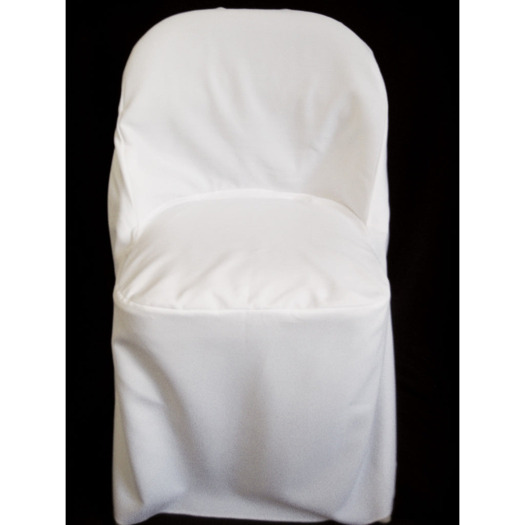 Standard Round Top Folding Chair Cover - Wholesale Wedding Chair Covers l Wedding & Party Supplies