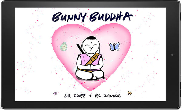 Bunny Buddha cover Amazon Kids Story  Mobile Phone Tablet