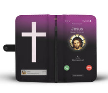 Load image into Gallery viewer, Jesus Is Calling (Android / Pink) Wallet Case ****** - Bunny Buddha