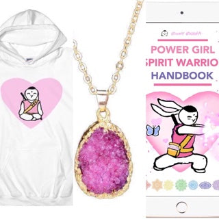 🌺 Bunny Buddha™ Power Girl Lotus Hoodie Pack 🌸 - Bunny Buddha