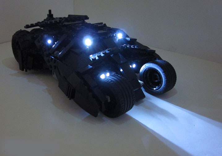 Deluxe Exclusive! The Dark Knight Tumbler w/ FREE Light Up Kit - Bunny Buddha