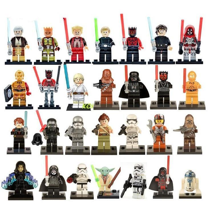 Assorted Star Wars Figures 2 - Buy 3 Get 2 FREE! - Bunny Buddha