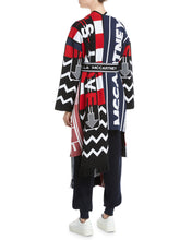 Load image into Gallery viewer, Logo-Knit Belted Long Cardigan Coat w/ Fringe by STELLA MCCARTNEY - Bunny Buddha