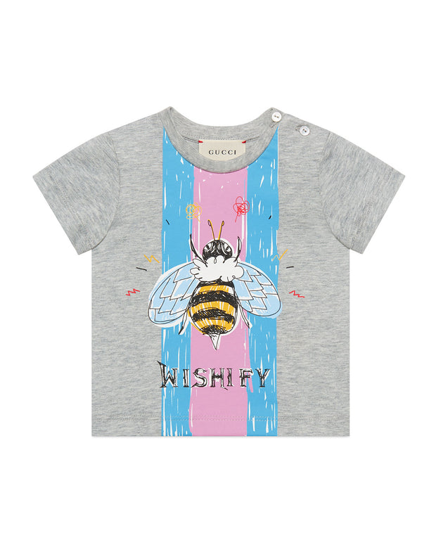 Wishify Bumblebee Graphic T-Shirt by GUCCI