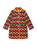 Rainbow Velvet GG Supreme Coat by GUCCI - Bunny Buddha
