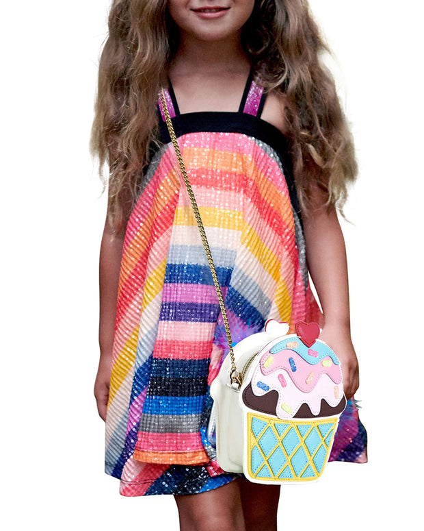 Girls' Ice Cream Cup Crossbody Bag by HANNAH BANANA - Bunny Buddha
