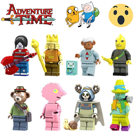 Adventure Time 8 Pcs / 16 Pcs Deluxe Sets - Bunny Buddha