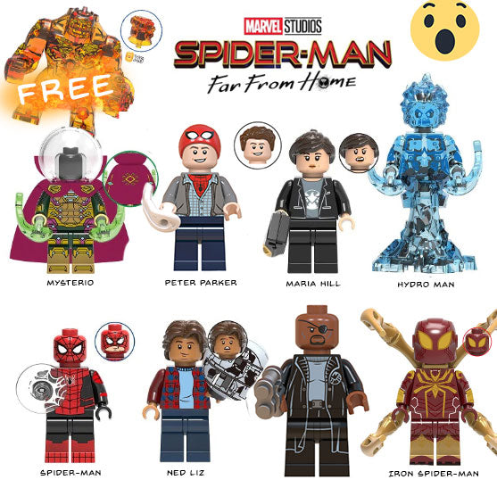 Spider-Man Far From Home 8Pcs Mega Set