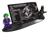 Load image into Gallery viewer, Deluxe Exclusive! The Dark Knight Tumbler w/ FREE Light Up Kit - Bunny Buddha