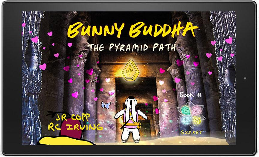 Bunny Buddha™ II: The Pyramid Path eBook - Smartphone / Widescreen - Bunny Buddha